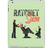 Ratchet Salon - Black Version iPad Case/Skin
