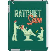 Ratchet Salon - Mint Version iPad Case/Skin