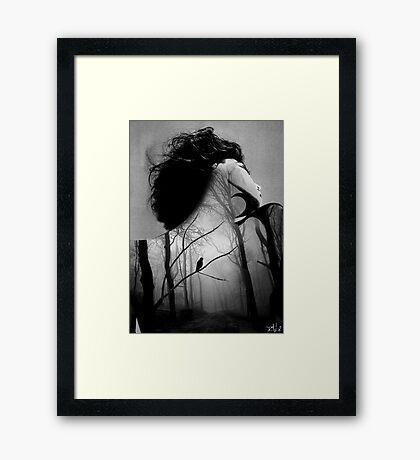 inner night Framed Print
