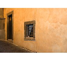 Small window Photographic Print