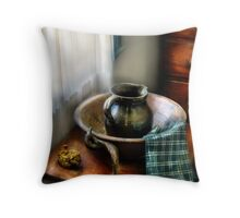 A Wash Basin Throw Pillow