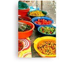 Pimenta Bowls Canvas Print