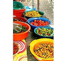 Pimenta Bowls Photographic Print