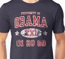 Property of Obama Inauguration t shirt Unisex T-Shirt