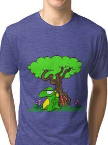 Mr. Lizard's Dreaming Tree Tri-blend T-Shirt