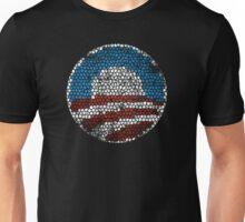 Barack Obama Crackle t shirt Unisex T-Shirt