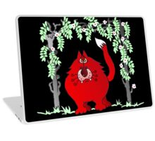 Red and dangerous Laptop Skin