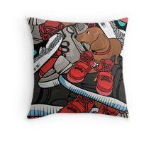 yeezy dog Throw Pillow