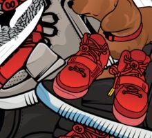 yeezy dog Sticker
