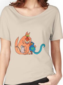 Happy together? or happy meal... Women's Relaxed Fit T-Shirt