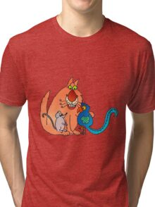 Happy together? or happy meal... Tri-blend T-Shirt
