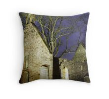 The Auld Kirk Throw Pillow