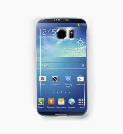 front is back and back is front Samsung Galaxy Case/Skin