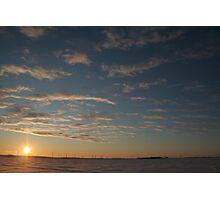 Big Sky Sunrise Photographic Print