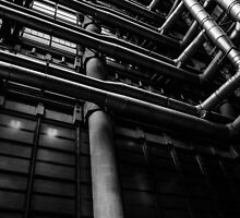 Industrial Pipes by PatiDesigns