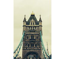 Tower Bridge Closeup Photographic Print