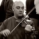 The Fiddle Player by Paul Woloschuk