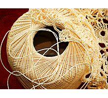 Yarn Work Photographic Print