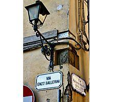 Street Signs Photographic Print