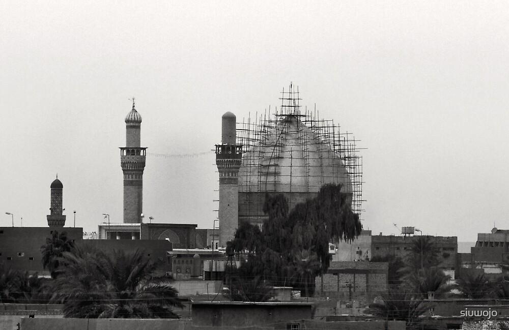 Golden Mosque Samarra Iraq by siuwojo