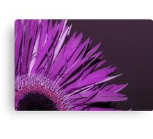 frilly flower Canvas Print