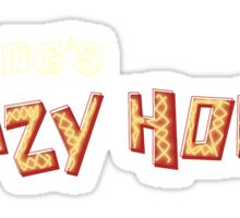 sid king's crazy horse Sticker
