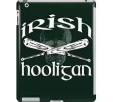 irish hooligan skull baseball iPad Case/Skin