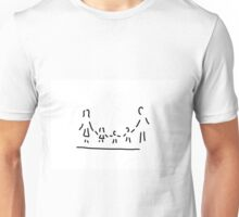 family mother father three children Unisex T-Shirt