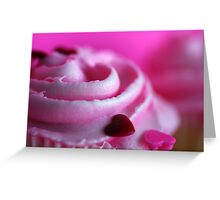 Pink Frosting Greeting Card