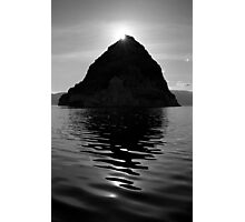 Shadow of the Pyramid Photographic Print