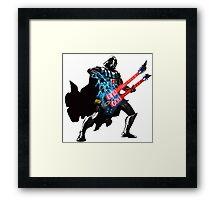 Darth Vader rocks da force! Framed Print