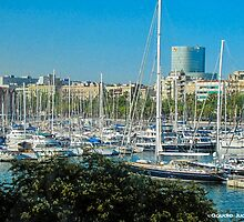 Barcelona - Marina by CJVisions
