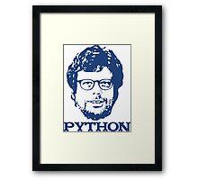 Guido + Python Framed Print