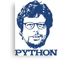 Guido + Python Canvas Print