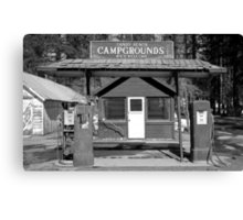 Sandy Beach Campgrounds - Tahoe Vista, California Canvas Print