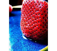 Strawberry Photographic Print