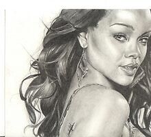 Rihanna by Candace Wiebe-Nesbit