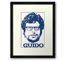 Guido + Guido Framed Print