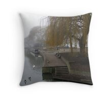 River Ouse Throw Pillow