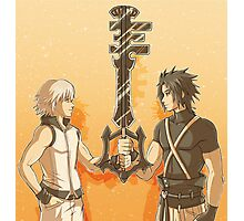 Kingdom Hearts Keyblade Masters Riku Terra Photographic Print