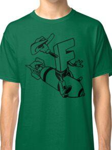 F-Bomb Funny Geek Nerd Classic T-Shirt