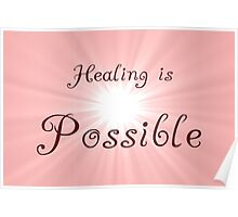 Healing Poster Poster