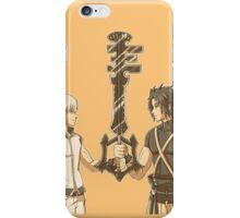 Kingdom Hearts Keyblade Masters Riku Terra iPhone Case/Skin