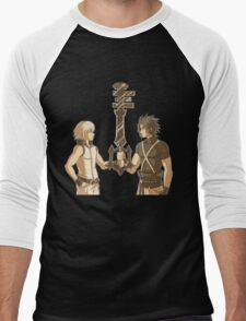 Kingdom Hearts Keyblade Masters Riku Terra Men's Baseball ¾ T-Shirt