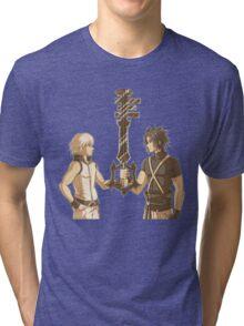 Kingdom Hearts Keyblade Masters Riku Terra Tri-blend T-Shirt