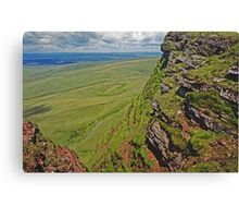 Summit - Black Mountain - Wales  Canvas Print