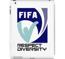 Fifa respect diversity Funny Geek Nerd iPad Case/Skin