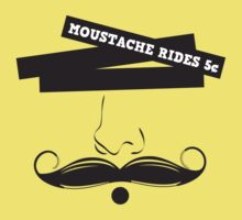 Moustache Rides 5 Cents by regalclothing