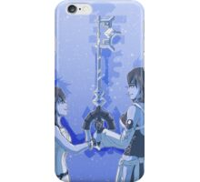 Kingdom Hearts Keyblade Masters Kairi Aqua iPhone Case/Skin