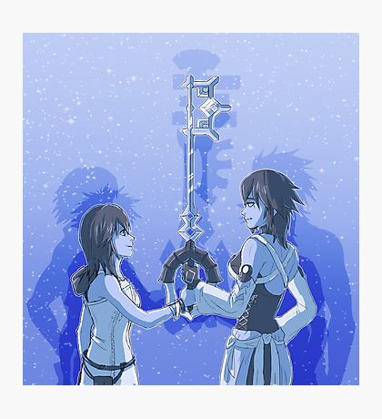 Kingdom Hearts Keyblade Masters Kairi Aqua Photographic Print